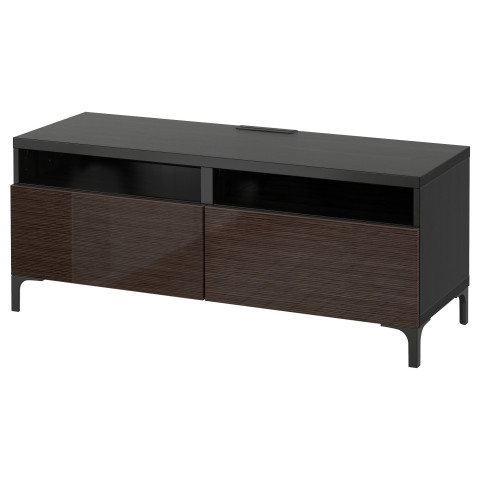 Тумба для ТВ с ящиками БЕСТО артикуль № 490.604.41 в наличии. Онлайн магазин IKEA Беларусь. Недорогая доставка и монтаж.