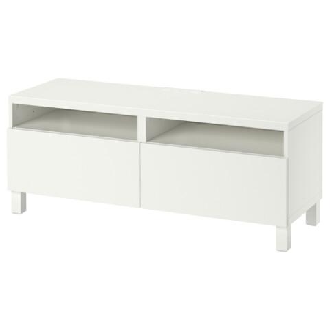 Тумба для ТВ с ящиками БЕСТО белый артикуль № 690.612.46 в наличии. Интернет каталог IKEA РБ. Недорогая доставка и монтаж.