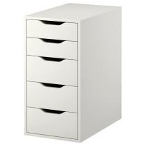 Тумба с ящиками АЛЕКС белый артикуль № 101.928.24 в наличии. Онлайн каталог IKEA Минск. Недорогая доставка и установка.