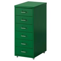 Тумба с ящиками на колесах ХЕЛЬМЕР зеленый артикуль № 602.961.26 в наличии. Интернет каталог IKEA РБ. Быстрая доставка и монтаж.
