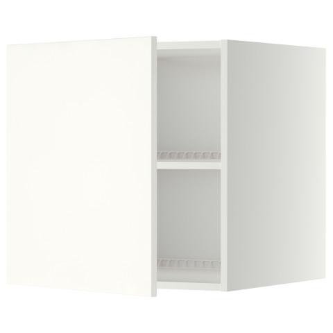 Верхний шкаф на холодильник, морозильник МЕТОД белый артикуль № 099.264.16 в наличии. Online магазин IKEA Минск. Недорогая доставка и установка.