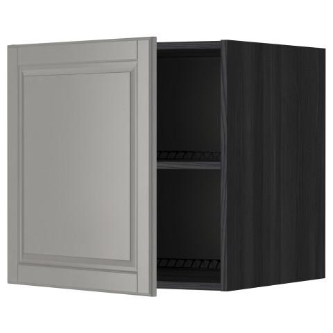 Верхний шкаф на холодильник, морозильник МЕТОД черный артикуль № 299.263.97 в наличии. Online каталог IKEA Республика Беларусь. Недорогая доставка и установка.