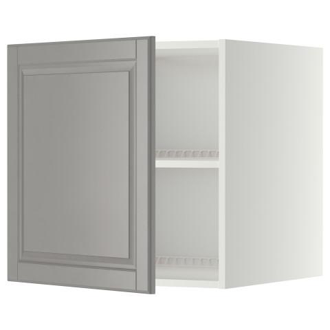 Верхний шкаф на холодильник, морозильник МЕТОД серый артикуль № 999.264.12 в наличии. Интернет каталог IKEA РБ. Быстрая доставка и соборка.