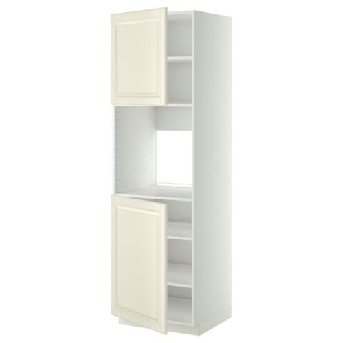 Высокий шкаф для духовки, 2 дверцы, полки МЕТОД белый артикуль № 190.277.02 в наличии. Онлайн магазин IKEA Минск. Быстрая доставка и монтаж.