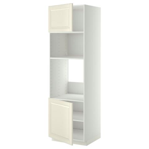 Высокий шкаф для духовки/СВЧ, 2 дверцы, полки МЕТОД белый артикуль № 790.278.98 в наличии. Онлайн каталог IKEA РБ. Быстрая доставка и соборка.