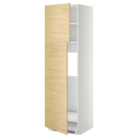 Высокий шкаф для холодильника, 2 дверцы МЕТОД белый артикуль № 599.250.18 в наличии. Интернет сайт ИКЕА Беларусь. Недорогая доставка и монтаж.