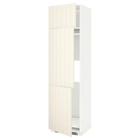 Высокий шкаф для холодильника или морозильника, с 3 дверями МЕТОД белый артикуль № 790.666.58 в наличии. Онлайн магазин ИКЕА РБ. Недорогая доставка и монтаж.