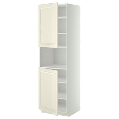 Высокий шкаф для/СВЧ, 2 дверцы, полки МЕТОД белый артикуль № 690.277.85 в наличии. Online магазин IKEA Беларусь. Недорогая доставка и соборка.