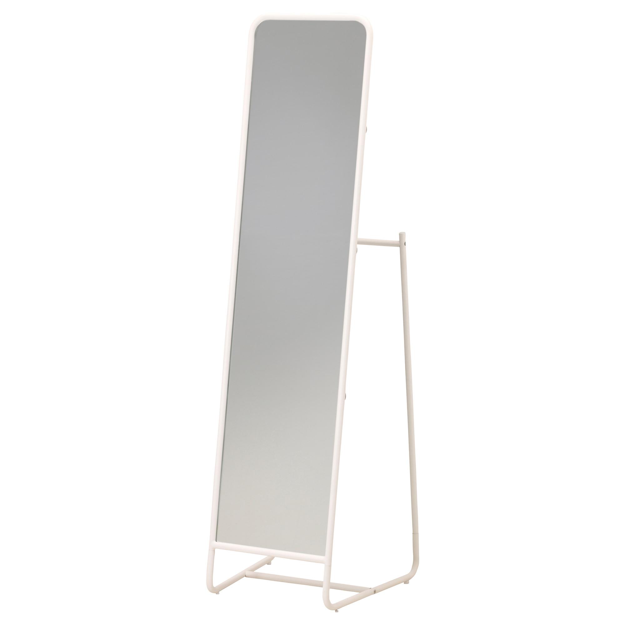 купить зеркало напольное кнаппер белый в Ikea минск стоимость