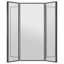 Зеркало СТАВЕ черно-коричневый артикуль № 798.626.56 в наличии. Online магазин IKEA Минск. Недорогая доставка и монтаж.