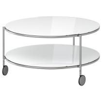 Журнальный стол СТРИНД белый артикуль № 301.571.03 в наличии. Интернет сайт IKEA Республика Беларусь. Быстрая доставка и соборка.