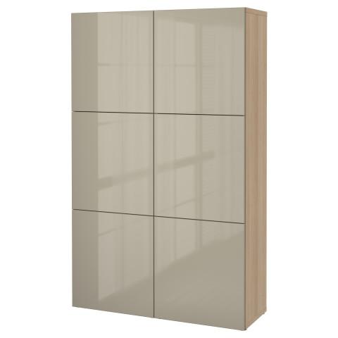 Комбинация для хранения с дверцами БЕСТО артикуль № 390.716.28 в наличии. Онлайн магазин IKEA Республика Беларусь. Недорогая доставка и монтаж.