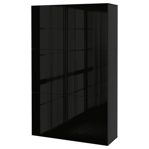 Комбинация для хранения с дверцами БЕСТО артикуль № 490.715.43 в наличии. Онлайн сайт IKEA РБ. Недорогая доставка и соборка.