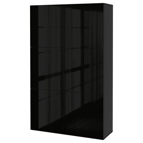 Комбинация для хранения с дверцами БЕСТО артикуль № 490.715.43 в наличии. Интернет каталог IKEA Беларусь. Недорогая доставка и монтаж.
