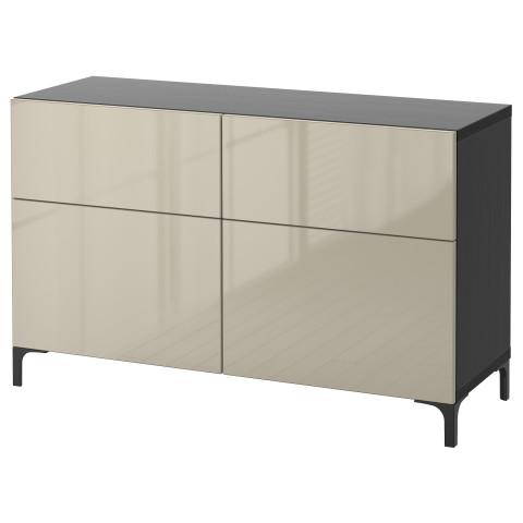 Комбинация для хранения с дверцами, ящиками БЕСТО артикуль № 791.247.19 в наличии. Онлайн каталог IKEA Беларусь. Быстрая доставка и монтаж.