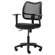 Рабочее кресло на колесах ОДФИН черный артикуль № 601.361.66 в наличии. Online каталог IKEA Минск. Недорогая доставка и монтаж.