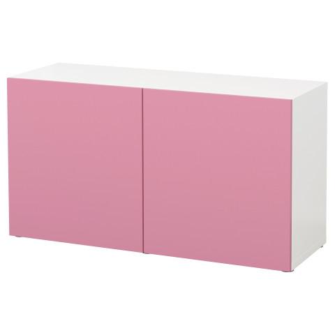 Стеллаж с дверьми БЕСТО белый артикуль № 890.474.00 в наличии. Онлайн каталог IKEA РБ. Недорогая доставка и установка.
