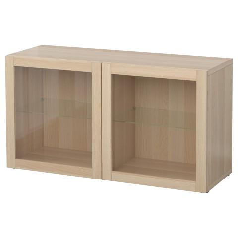 Стеллаж со стеклянная дверьми БЕСТО артикуль № 290.476.29 в наличии. Онлайн магазин IKEA Беларусь. Быстрая доставка и установка.