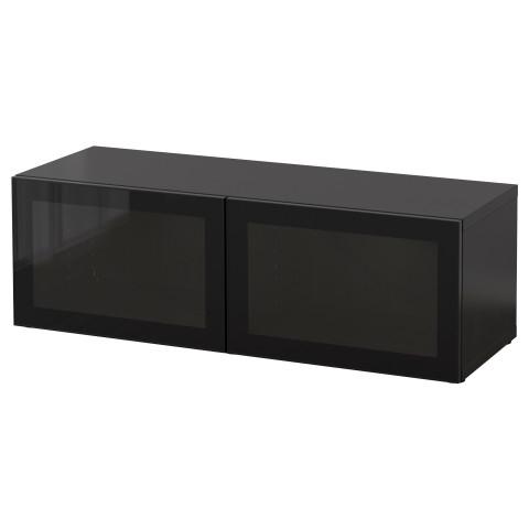 Стеллаж со стеклянная дверьми БЕСТО артикуль № 390.477.56 в наличии. Online сайт IKEA Минск. Недорогая доставка и установка.