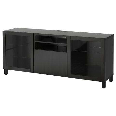 Тумба для ТВ с ящиками БЕСТО артикуль № 690.712.12 в наличии. Интернет сайт IKEA РБ. Недорогая доставка и установка.