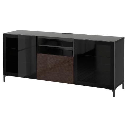 Тумба для ТВ с ящиками БЕСТО артикуль № 690.836.44 в наличии. Интернет каталог IKEA РБ. Быстрая доставка и монтаж.