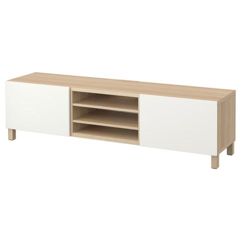 Тумба для ТВ с ящиками БЕСТО белый артикуль № 890.637.82 в наличии. Онлайн сайт IKEA РБ. Недорогая доставка и монтаж.