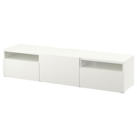 Тумба под ТВ БЕСТО белый артикуль № 290.628.89 в наличии. Интернет сайт IKEA Минск. Недорогая доставка и монтаж.