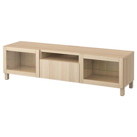 Тумба под ТВ БЕСТО артикуль № 290.716.81 в наличии. Online сайт IKEA Беларусь. Недорогая доставка и установка.