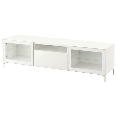 Тумба под ТВ БЕСТО белый артикуль № 290.717.18 в наличии. Интернет магазин IKEA Минск. Недорогая доставка и установка.