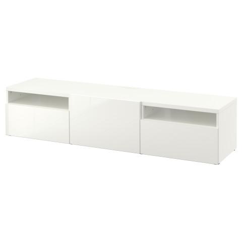 Тумба под ТВ БЕСТО белый артикуль № 590.629.20 в наличии. Интернет сайт IKEA РБ. Недорогая доставка и монтаж.