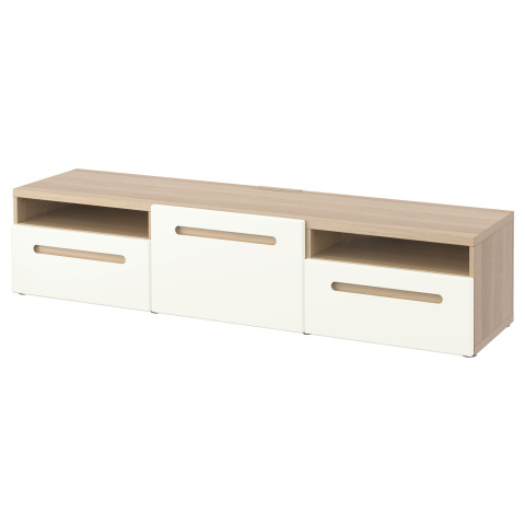 Тумба под ТВ БЕСТО белый артикуль № 990.628.81 в наличии. Online магазин IKEA РБ. Быстрая доставка и монтаж.