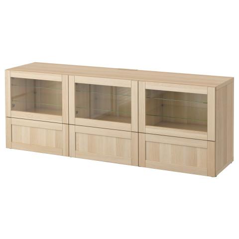 Тумба под ТВ, с дверцами и ящиками БЕСТО артикуль № 290.852.49 в наличии. Онлайн магазин IKEA Беларусь. Быстрая доставка и монтаж.