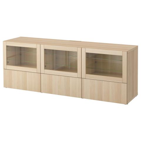 Тумба под ТВ, с дверцами и ящиками БЕСТО артикуль № 690.852.66 в наличии. Онлайн магазин IKEA РБ. Недорогая доставка и соборка.