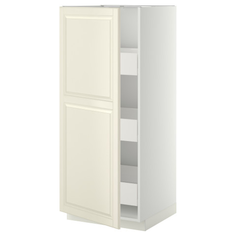 Высокий шкаф с ящиками МЕТОД / ФОРВАРА белый артикуль № 099.230.69 в наличии. Интернет сайт ИКЕА РБ. Недорогая доставка и соборка.