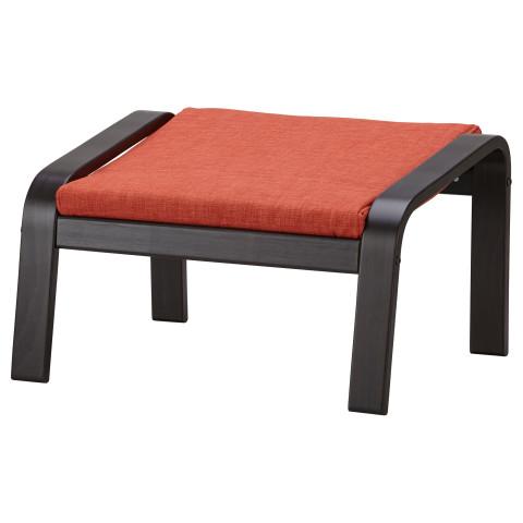 Табурет для ног ПОЭНГ темно-оранжевый артикуль № 791.711.31 в наличии. Онлайн магазин IKEA Республика Беларусь. Быстрая доставка и соборка.