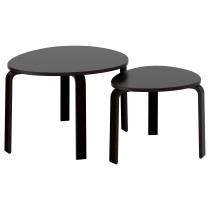 Комплект столов, 2 шт СВАЛЬСТА артикуль № 602.806.77 в наличии. Online сайт IKEA Республика Беларусь. Недорогая доставка и установка.