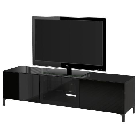 Тумба под ТВ, с дверцами БЕСТО артикуль № 091.403.36 в наличии. Online сайт IKEA Минск. Недорогая доставка и соборка.