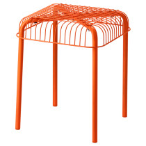 Табурет для дома/улицы ВЭСТЕРОН оранжевый артикуль № 503.079.55 в наличии. Онлайн сайт IKEA Беларусь. Быстрая доставка и соборка.