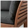3-местный диван, садовый ЭПЛАРО черный артикуль № 890.540.42 в наличии. Онлайн магазин ИКЕА Минск. Недорогая доставка и установка.