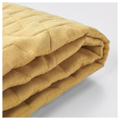 Чехол на 2-местный диван-кровать ЛИКСЕЛЕ желтый артикуль № 403.234.23 в наличии. Интернет магазин ИКЕА Республика Беларусь. Недорогая доставка и установка.