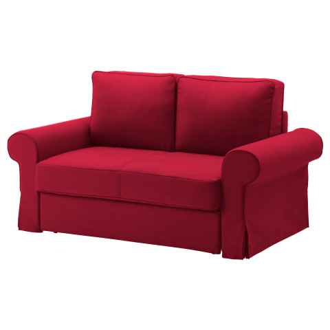 Диван-кровать 2-местная БАККАБРУ красный артикуль № 591.336.49 в наличии. Online сайт IKEA Минск. Быстрая доставка и монтаж.