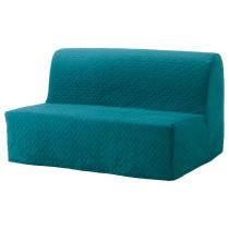 Диван-кровать 2-местная ЛИКСЕЛЕ ЛЁВОС бирюзовый артикуль № 891.498.99 в наличии. Онлайн каталог IKEA РБ. Недорогая доставка и монтаж.