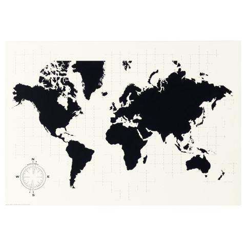 Доска для записей МЁЛЬТОРП артикуль № 703.192.50 в наличии. Онлайн сайт IKEA Минск. Недорогая доставка и соборка.