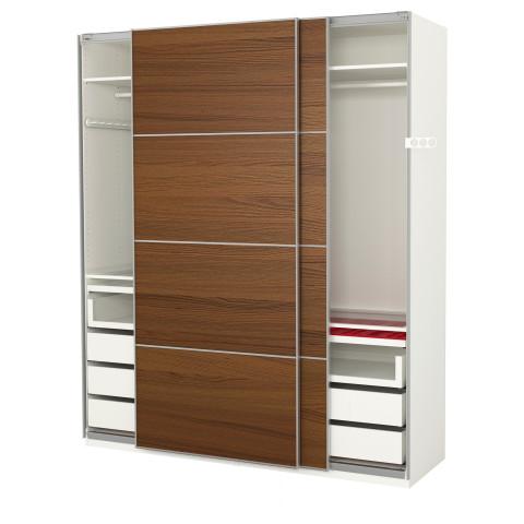 Гардероб ПАКС белый артикуль № 491.600.30 в наличии. Online каталог IKEA РБ. Недорогая доставка и соборка.
