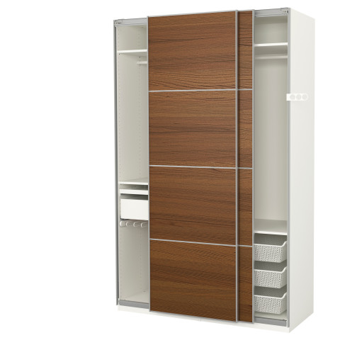 Гардероб ПАКС белый артикуль № 691.600.34 в наличии. Онлайн сайт IKEA Беларусь. Недорогая доставка и соборка.