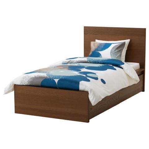 Каркас кровати + 2 кроватных ящика МАЛЬМ артикуль № 891.322.95 в наличии. Интернет сайт ИКЕА Беларусь. Недорогая доставка и установка.