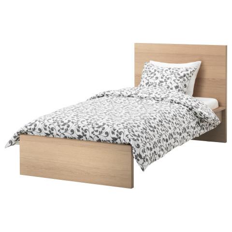 Каркас кровати, высокий МАЛЬМ артикуль № 491.572.97 в наличии. Онлайн сайт IKEA Минск. Недорогая доставка и соборка.