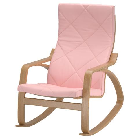 Кресло-качалка ПОЭНГ розовый артикуль № 191.502.02 в наличии. Онлайн магазин IKEA Беларусь. Недорогая доставка и соборка.