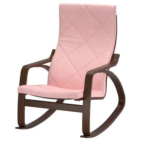 Кресло-качалка ПОЭНГ розовый артикуль № 291.502.11 в наличии. Онлайн сайт IKEA Беларусь. Быстрая доставка и соборка.