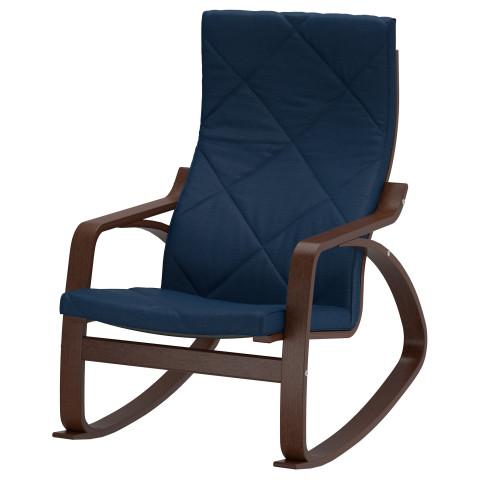 Кресло-качалка ПОЭНГ темно-синий артикуль № 491.502.10 в наличии. Online каталог IKEA РБ. Недорогая доставка и установка.